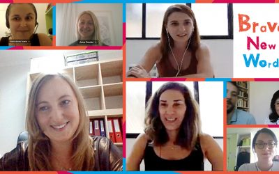 Our 2nd online Transnational Meeting: Brave New Words is going to grow more and more