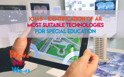 IO1A5 – Identification of AR most suitable technologies for special education is now available